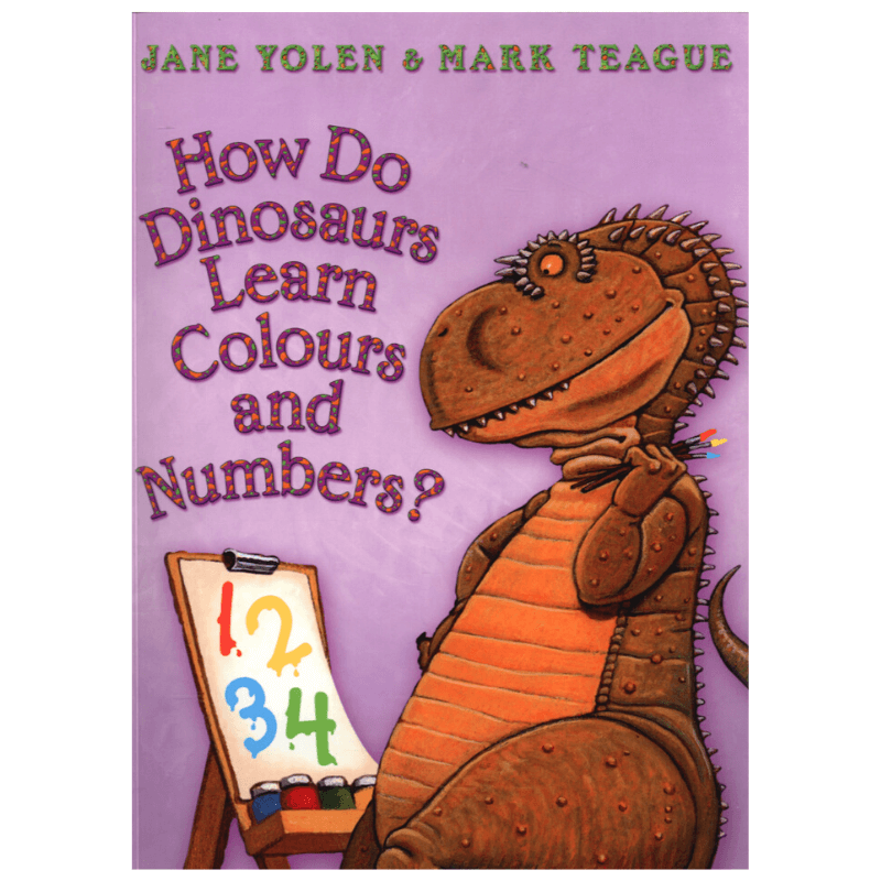 HOW DO DINOSAURS LEARN COLOURS AND NUMBERS? A4 BOOK