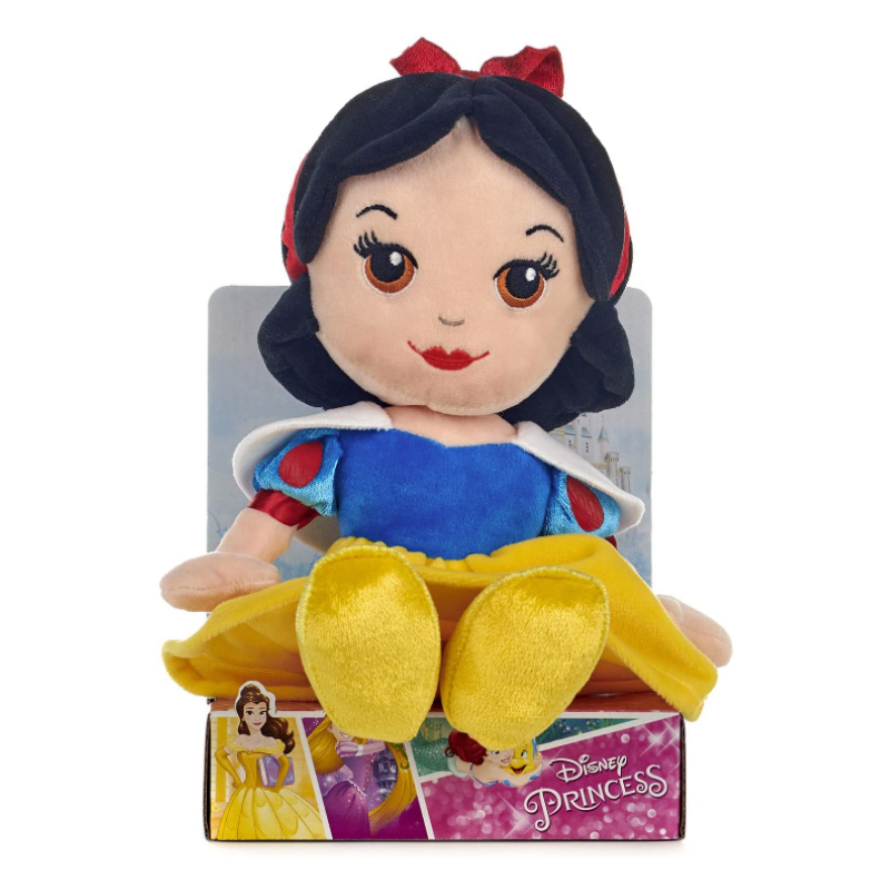 "DISNEY PRINCESS SNOW WHITE 10"" SOFT TOY"