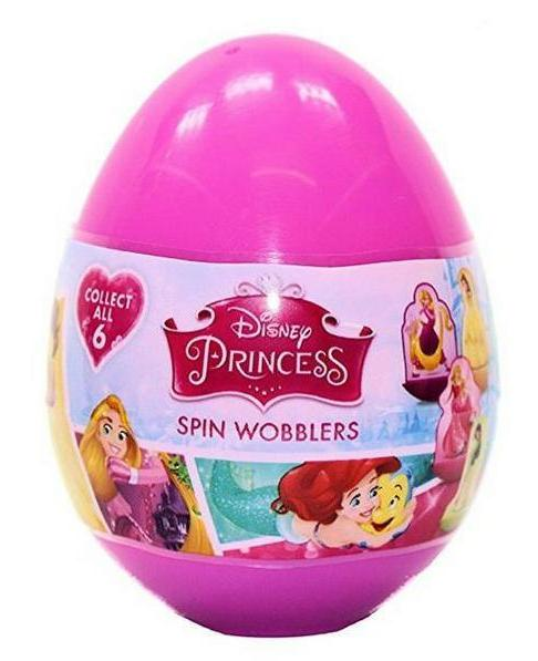 DISNEY PRINCESS SPIN WOBBLERS - SURPRISE EGG | Cheap Toys | PoundToy