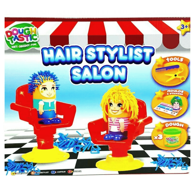 DOUGH TASTIC HAIR STYLIST SALON CREATIVE KIT | Cheap Toys | PoundToy