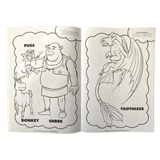 DreamWorks Colouring Book