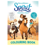 DreamWorks Spirit Riding Free Colouring Book