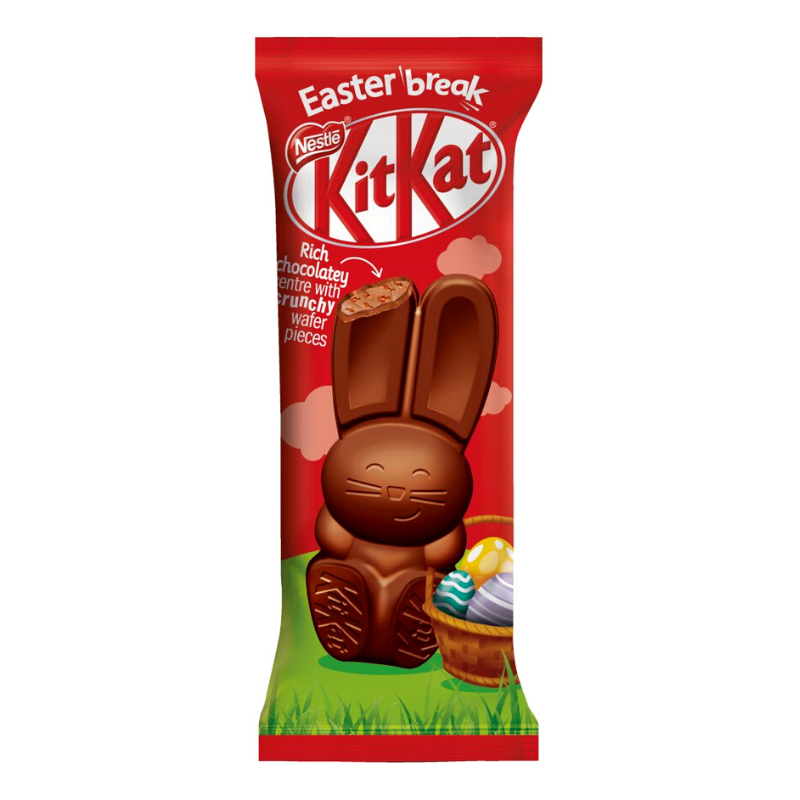 NESTLE KITKAT CHOCOLATE EASTER BUNNY