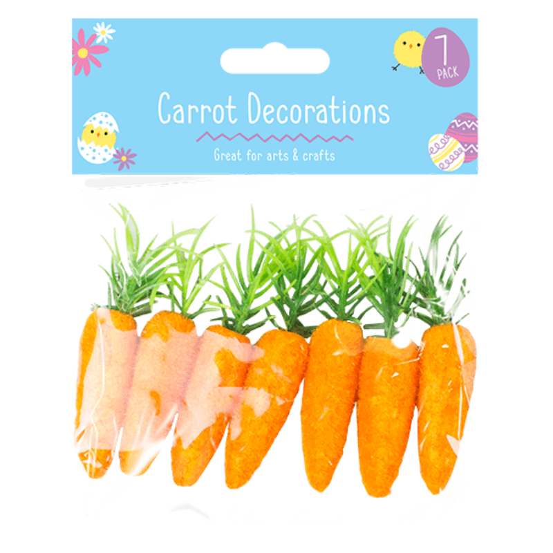 Easter Carrot Decorations