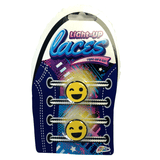 Emoji Light-Up Laces Button