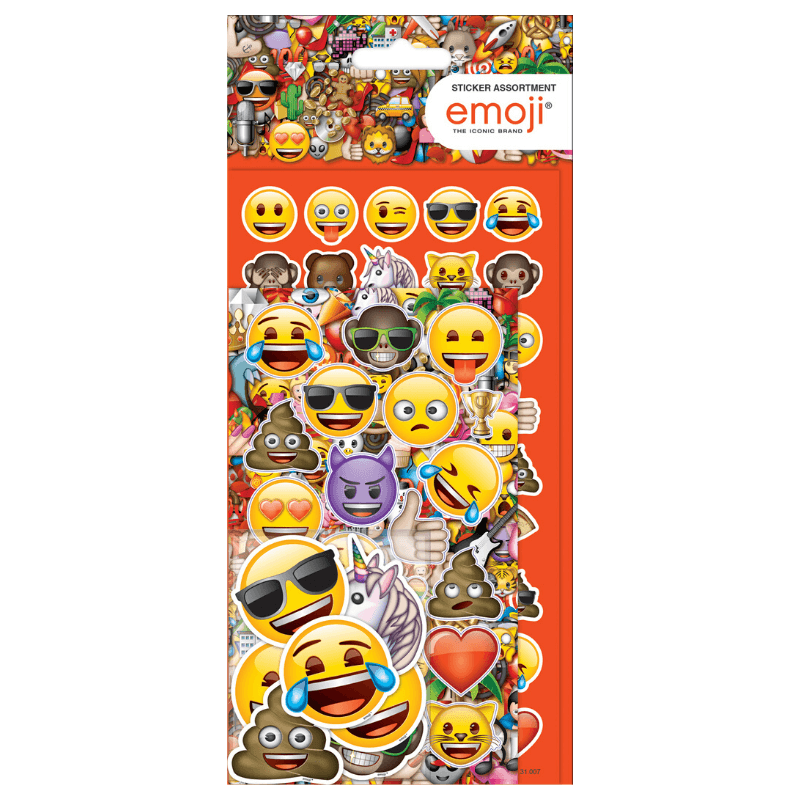EMOJI STICKERS BUMPER PACK | Cheap Toys | PoundToy