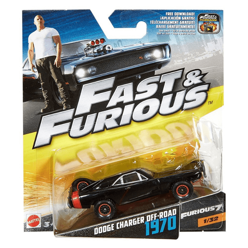 Fast & Furious 1970 Dodge Charger Off-Road Vehicle