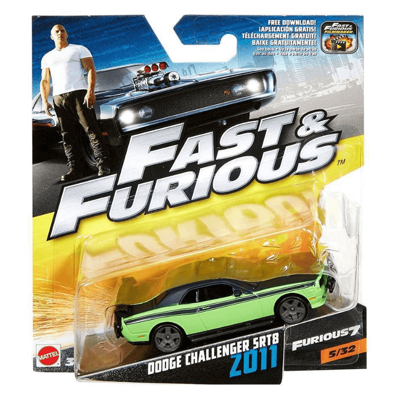 Fast & Furious Dodge Challenger SRT8 Vehicle