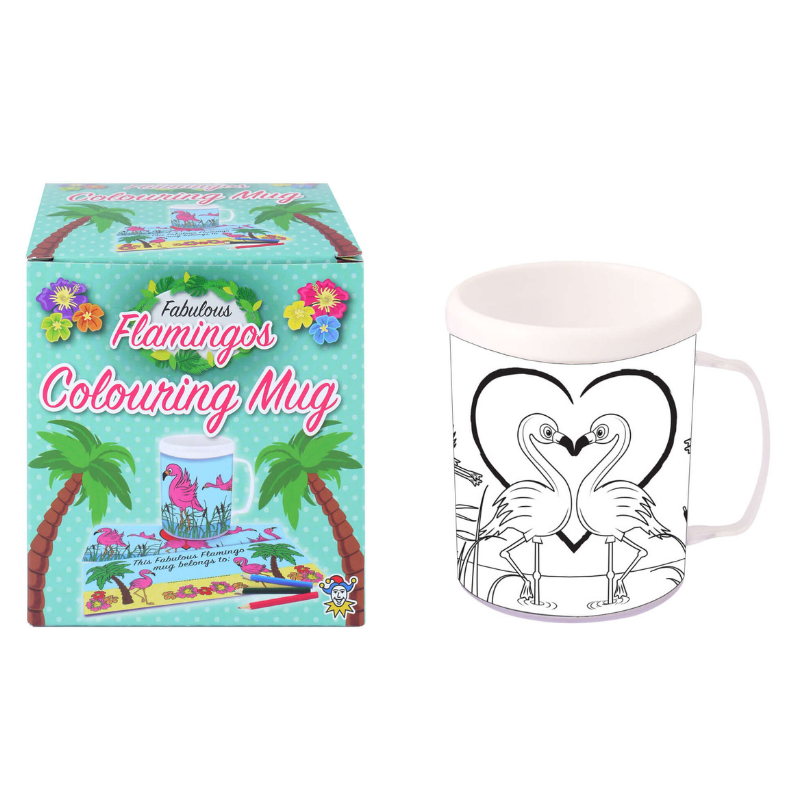 Flamingo Colouring Mug