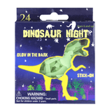 GLOW IN THE DARK DINOSAUR STICK-ONS | Cheap Toys | PoundToy