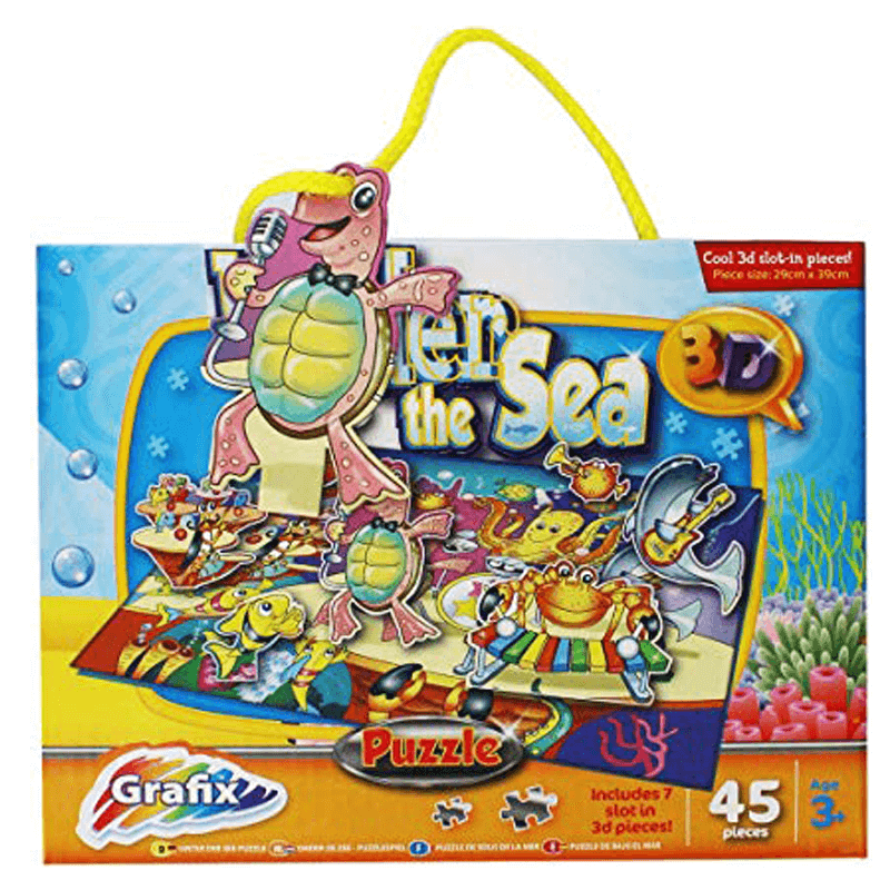 GRAFIX 3D UNDER THE SEA PUZZLE | Cheap Toys | PoundToy