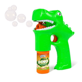 Green Dino Bubble Gun