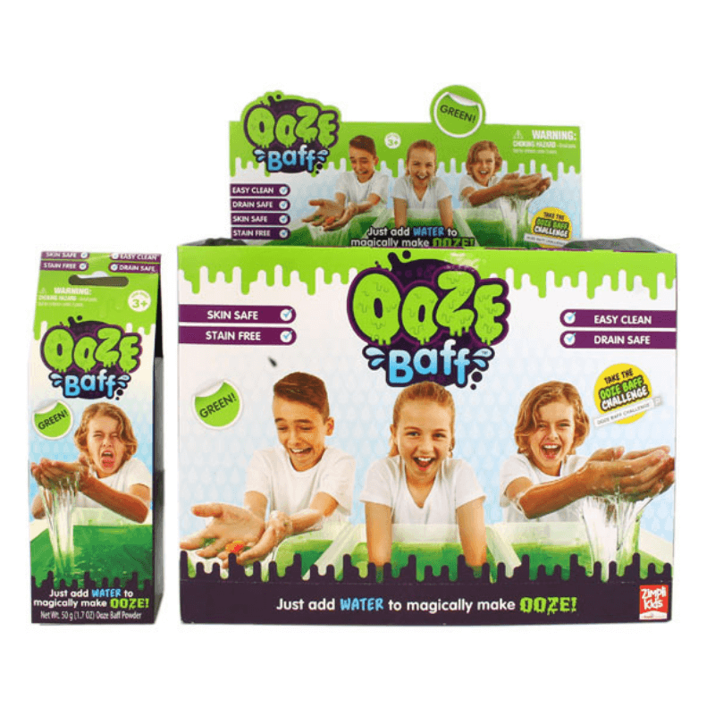 GREEN OOZE BAFF - MAKE YOUR OWN OOZE (BOX OF 32) | Cheap Toys | PoundToy