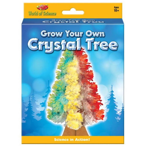 World Of Science Grow Your Own Crystal Tree