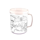 Halloween colouring mug