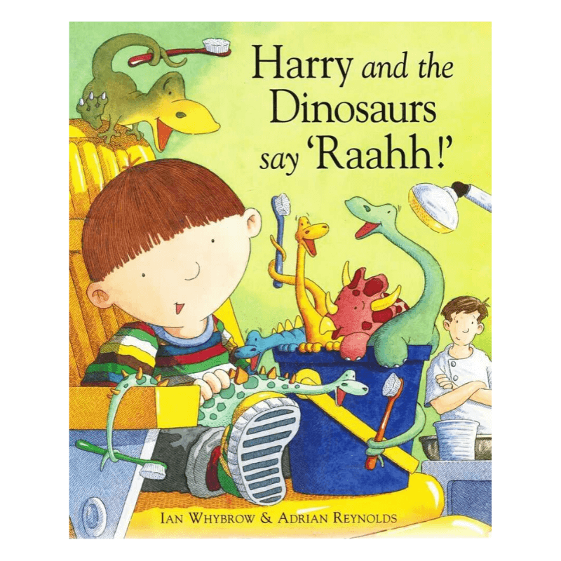 "HARRY AND THE DINOSAURS SAY ""RAAHH!"" BOOK"