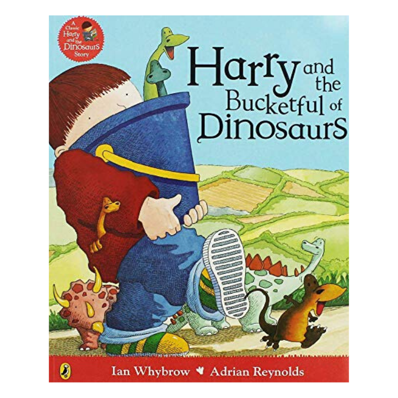 HARRY AND THE BUCKETFUL OF DINOSAURS BOOK