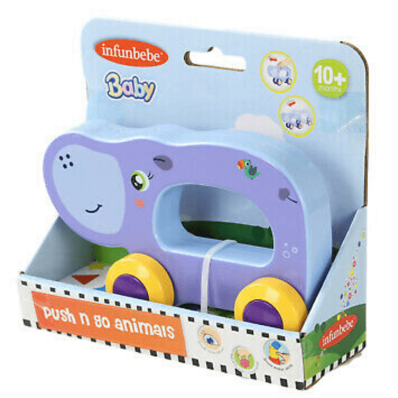HIPPO PUSH N GO ANIMAL BY INFUNBEBE™