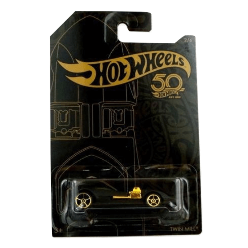 HOT WHEELS 50TH ANNIVERSARY TWIN MILL VEHICLE