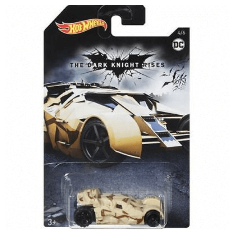 HOT WHEELS THE DARK KNIGHT RISES - BATMAN TUMBLER | Cheap Toys | PoundToy