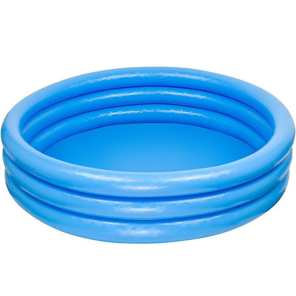 INTEX 3 RING CRYSTAL BLUE POOL | Cheap Toys | PoundToy