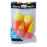 ce Cream Sponge Poppers Pack of 4 Party Bag Fillers
