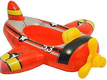 INFLATABLE AEROPLANE SIT-IN PADDLING POOL