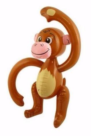 INFLATABLE MONKEY | Cheap Toys | PoundToy