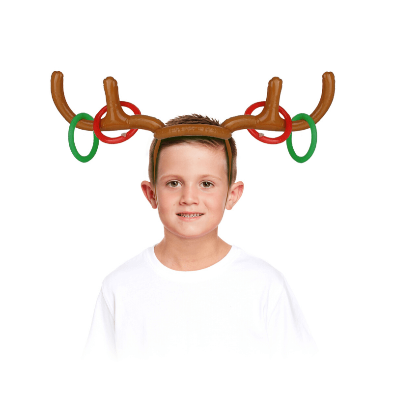 Inflatable Reindeer Antler Game