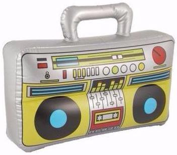INFLATABLE BOOM BOX SPEAKER | Cheap Toys | PoundToy