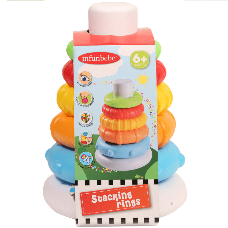 STACKING RINGS BY INFUNBEBE™ | Cheap Toys | PoundToy