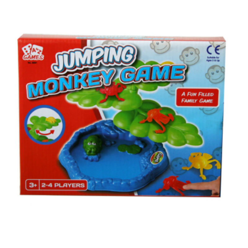 Jumping Monkey Plant Game