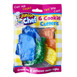 Junior Chef Cookie Cutters 6 Pack