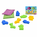 Kreative Kids Kinetic Sand Animal Set - contents and box