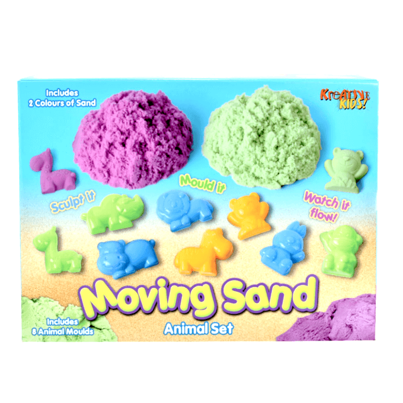 Kreative Kids Kinetic Sand Animal Set