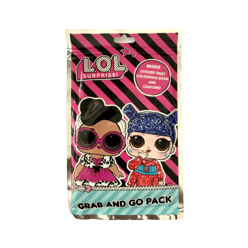 LOL Surprise Grab And Go Activity Pack
