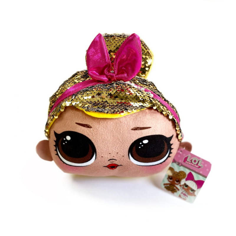 LOL Surprise! Sequin Soft Toy - Pink Bow Sis Swing