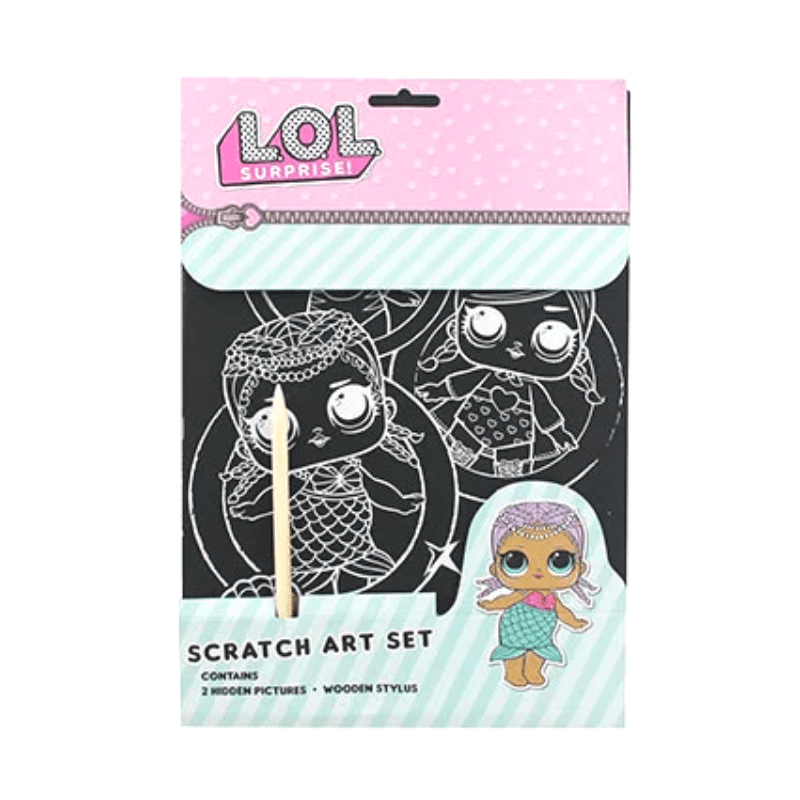 LOL SURPRISE SCRATCH ART SET | Cheap Toys | PoundToy
