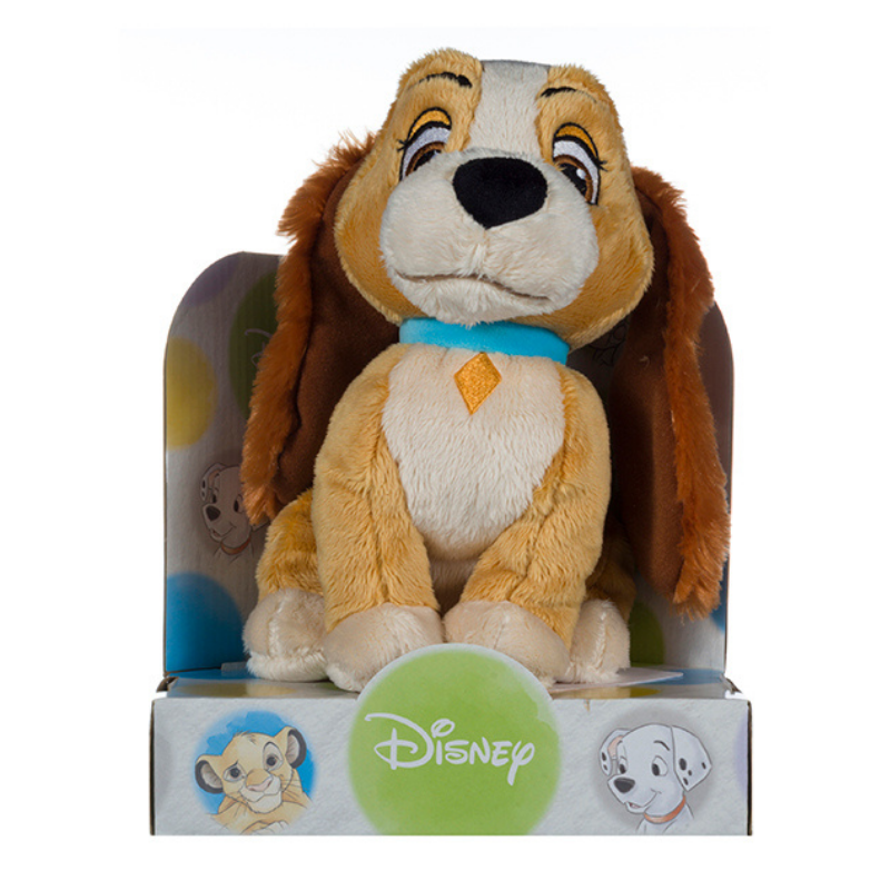 Lady and the tramp 10 inch plush