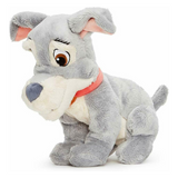 Lady and the tramp 10 inch plush Tramp diagnonal