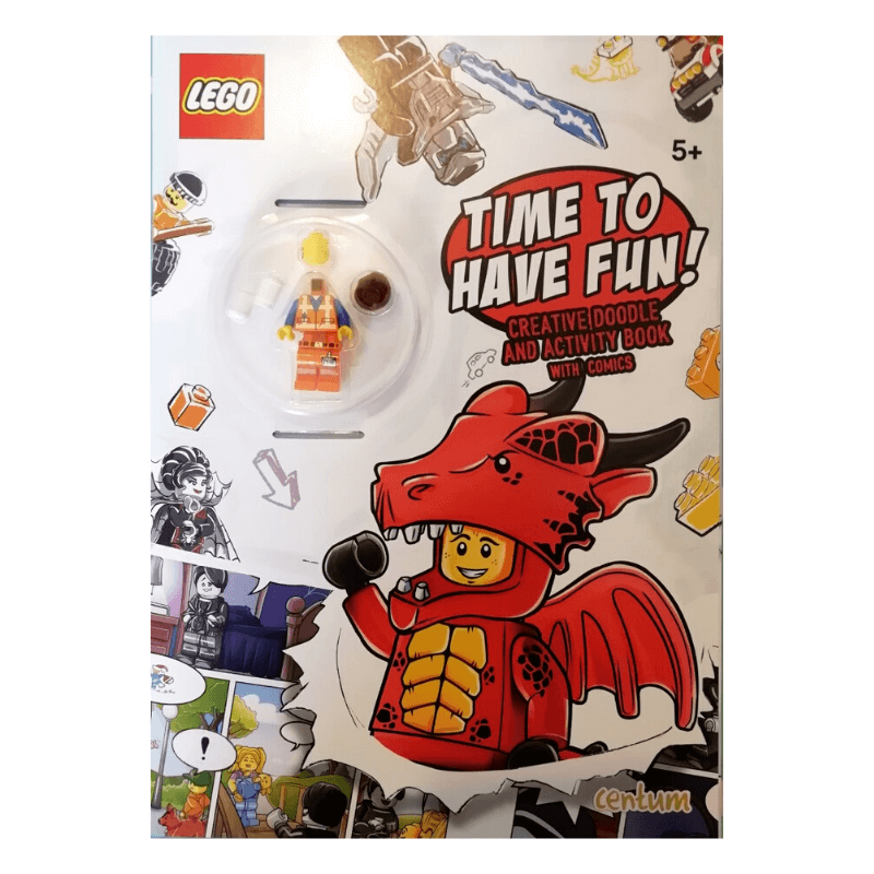 Lego Time To Have Fun! Creative Doodle & Activity Book