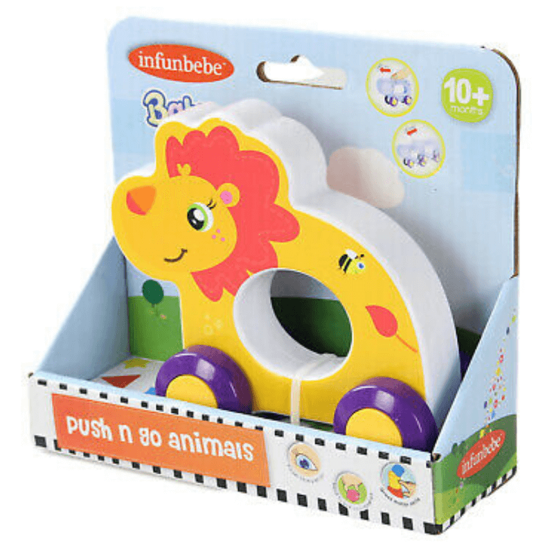 LION PUSH N GO ANIMAL BY INFUNBEBE™