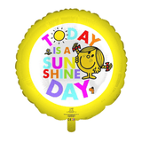 Little Miss Today Is A Sunshine Day Foil Balloon