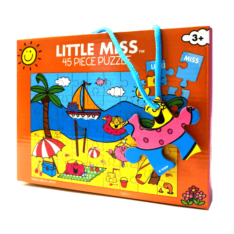 LITTLE MISS BEACH PUZZLE | Cheap Toys | PoundToy