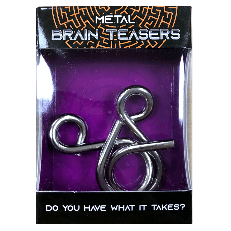 METAL BRAIN TEASER PUZZLE | Cheap Toys | PoundToy