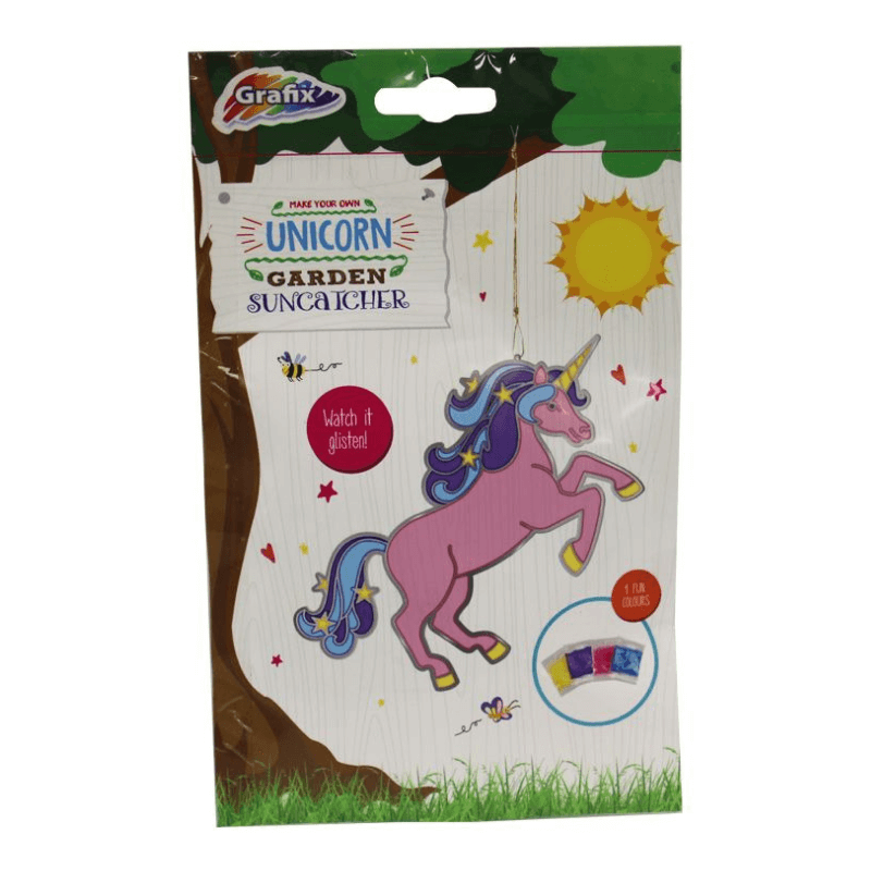 MAKE YOUR OWN UNICORN SUNCATCHER | Cheap Toys | PoundToy