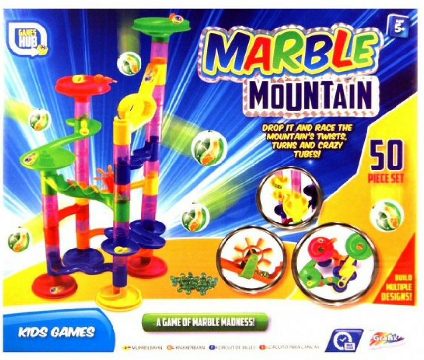 MARBLE MOUNTAIN - MARBLE RUN GAME | Cheap Toys | PoundToy