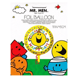 Mr. Men Today Is A Happy Day Foil Balloon