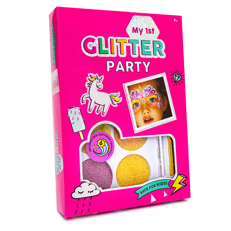 My First Glitter Party Makeup Face Paint