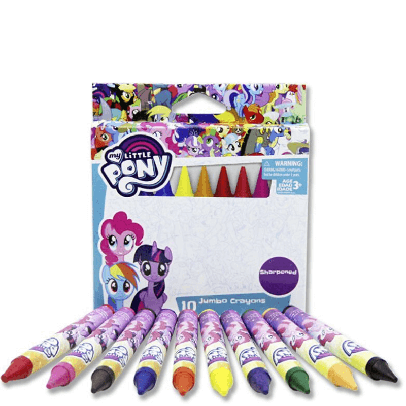 My Little Pony 10 Jumbo Crayons